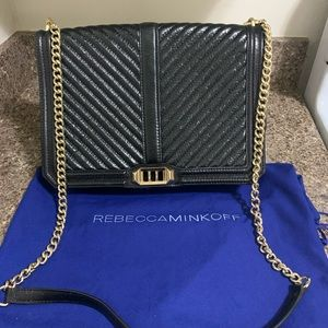 Rebecca Minkoff Jumbo Love Crossbody MSRP $355